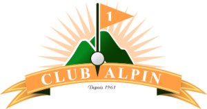 logo club de golf Alpin