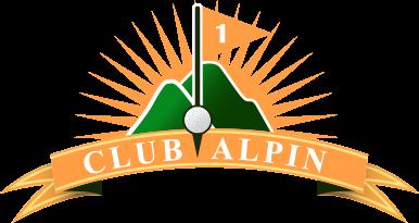logo club de golf Alpin