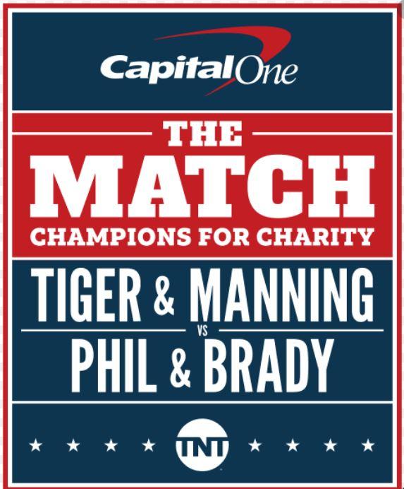 The Match II: Woods et Manning l'emportent sur Brady et Mickelson