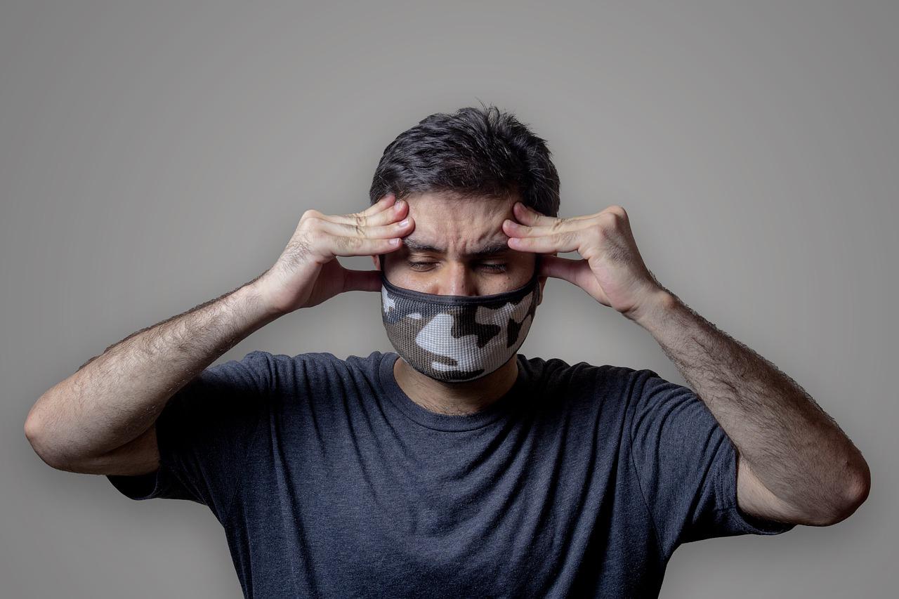 port du masque obligatoire pour les golfeurs